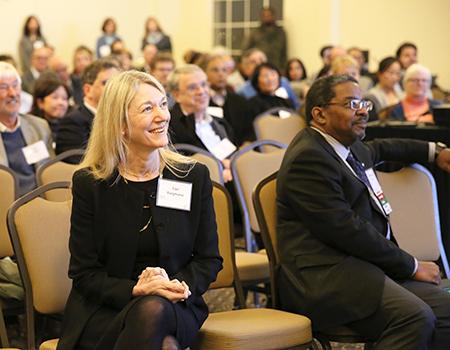 Cori Bargmann, PhD, and Talmadge E. King, Jr., MD