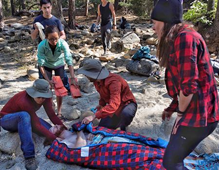 Medical Students Take on Wilderness Medicine in Yosemite
