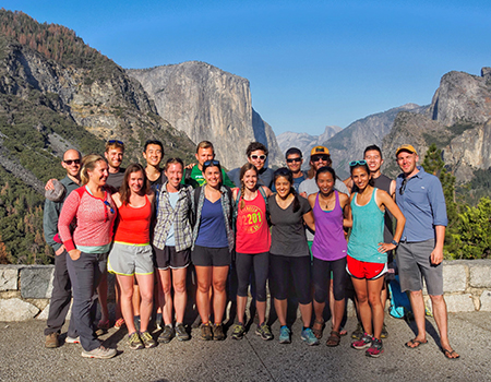 Yosemite group shot