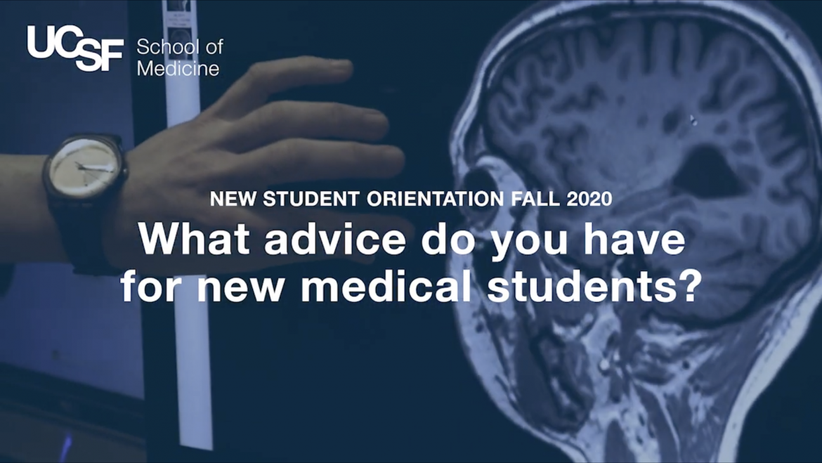 what advice do you have for first year medical students?