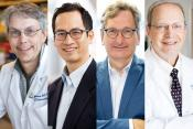 Mark Anderson, MD, PhD; Edward Chang, MD; Aleksandar Rajkovicpic, MD, PhD; and Robert Wachter, MD