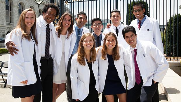 white coat group